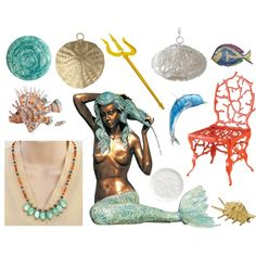 """Mermaid Life"" by lumibon on Polyvore"
