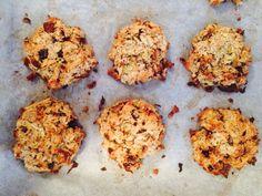 Herbstliche Apfel-Nuss-Cookies ohne Zucker