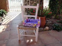 El taller de Naidú: Cajas de fresas decoradas con tela.