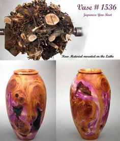 Yew Root Hollow Form
