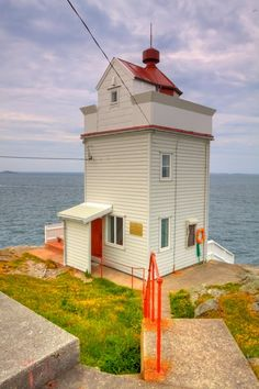 Ryvarden Lighthouse is a coastal lighthouse on the western coast of the municipality of Sveio in Hordaland county, Norway. The lighthouse was established in 1849 to mark the southern shore of the entrance to the Bømlafjorden from the sea.
