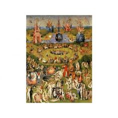 1000 images about puzzles de hieronymus bosch el bosco for Bosco el jardin de las delicias