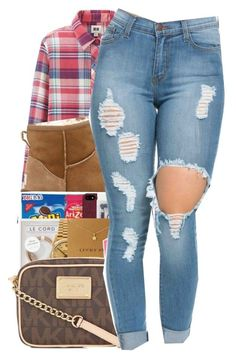 """""""3/4/16"""" by xtaymaxlovesxmisfitx ❤ liked on Polyvore featuring Uniqlo and UGG Australia"""