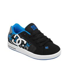 Take a look at this Black & Blue Net SE Sneaker by DC on #zulily today!