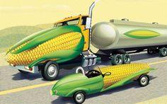 Corn car... Odd but interesting