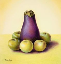 Eggplant and Apples