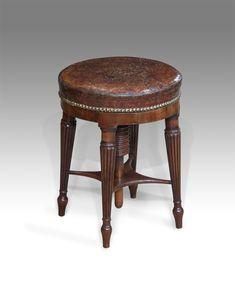 Piano stool antique