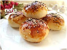 Turkish Recipes, Bagel, Hamburger, Pie, Cooking Recipes, Bread, Cookies, Foods, Pastries