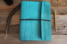 Handmade Ring Bound Planner Binder from The Leather Quill Shoppe