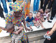 Fleeing 60-year-old British-Nigerian woman who bought 5 babies for N5m got nabbed