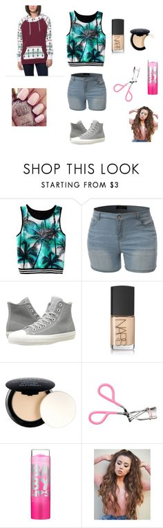 """""""Mckenna's Outfit 5"""" by brooklyn-953 ❤ liked on Polyvore featuring LE3NO, Converse, NARS Cosmetics, NYX and Maybelline"""