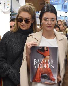 Gigi Hadid + Kendall Jenner