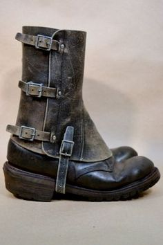 Men's Leather Spats