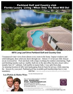 FlipSnack   Home for Sale 6895 Long Leaf Parkland Golf and Country Club  by lea plotkin