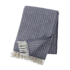 Klippan Rumba Eco Lambs Wool Throw in Warm Grey available at Northlight Homestore Swedish Design, Scandinavian Design, Presents For Mum, Fabric Wallpaper, At Home Store, Plaid, Blanket, Wool, Grey