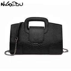 1a4fcfee36b41 US $22.55 45% OFF|Aliexpress.com: kup NIGEDU marka krokodyla kobiet torebki  luksusowe party damskie torebki wieczorowe torba na ramię ze skóry PU  damski ...