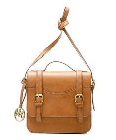 Take a look at this Cognac Jane Crossbody Bag by emilie m. on #zulily today!