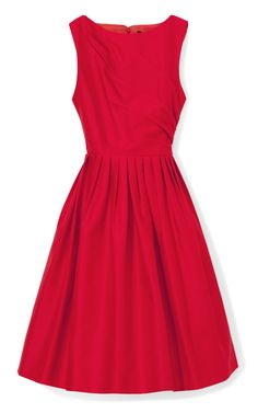 zsazsasitlist:  by Andrew GN see details here:Cotton Faille Cocktail Dress