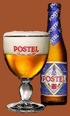 Postel Tripel, 8.5% 7/10. This a abbeybeer since 1611 brewed by monks in Postel a community close to Mol (Belgium) but now brewed in Opwijk, brewery Affligem owned by Heineken. I drunk this beer to warm to rate this completely correct.