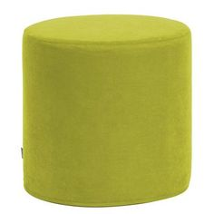 Howard Elliott No Tip Cylinder Ottoman Upholstery: Mojo Kiwi