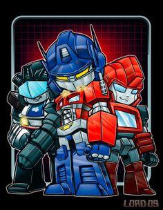 Lil Bots by *lordmesa