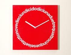 'dodici' wall clock from progetti