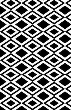 BLK WHITE PATTERNS | BLACK & WHITE PATTERNS by Eve Stiles at Coroflot.com