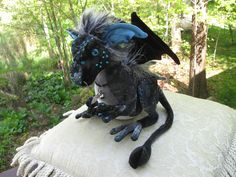 Stormy a Baby Nipper Dragon by Dragontry on Etsy