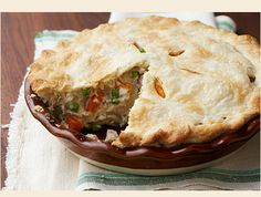 Baked Chicken Potpie | Amish 365: Amish Recipes – Amish Cooking