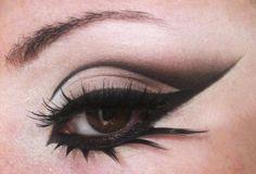 make up tips for brown eyes, arabic makeup, eyeliner