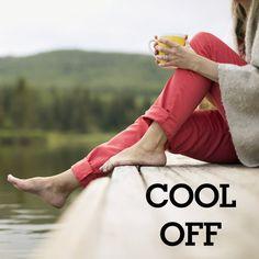 Cool it down:  17 ways to de-stress