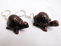 Amazon.com - Lucky Turtle Keychain Statue Set 2 Pieces. $9.99
