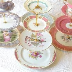 tiered cake stand petite fours - Bing Images