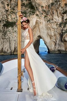 High-quality, luxury Wedding Dress 13618 Dominica from Capri Collection designed by Victoria Soprano - unique wedding dresse & bridal gown that would make your wedding day memorable. Capri, Victoria Dress, Wedding Pictures, Wedding Dresses, Group, Fashion, Wedding, Bride Dresses, Moda
