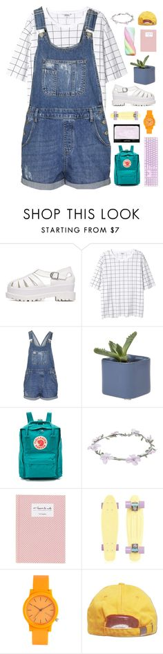 """I like when you smile, but I love it when I'm the reason."" by tiaranurindaa ❤ liked on Polyvore featuring Monki, Topshop, Fjällräven, Wet Seal, NARS Cosmetics and Komono"