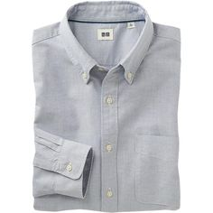 Uniqlo Slim-fit Oxford Shirt  http://www.uniqlo.com/us/product/men-oxford-slim-fit-long-sleeve-shirt-088587.html#01|/men/tops/casual-shirts/oxford-slim/|
