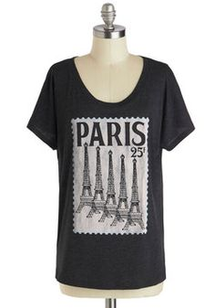 Postcard from Paris Top, #ModCloth