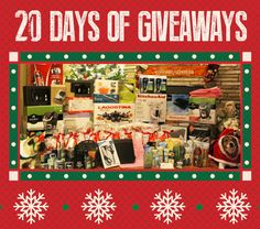 Giveaway - 20 days of christmas giveaway
