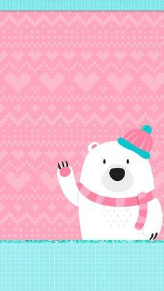 Polar Over Bees Wallpaper Wallpapers) – Art Wallpapers Cute Christmas Wallpaper, Halloween Wallpaper Iphone, Holiday Wallpaper, Winter Wallpaper, January Wallpaper, Holiday Backgrounds, Cute Wallpaper Backgrounds, Pretty Wallpapers, Iphone Wallpaper