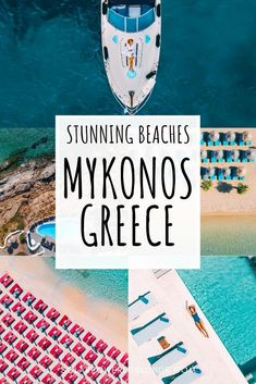 Your guide to the best beaches in Mykonos, including the most secluded beaches, as well as party beaches, sandy beaches to rocky beaches. Santorini, Mykonos Greece, Corfu Greece, Athens Greece, Europe Travel Guide, Europe Destinations, Travel Guides, Greece Vacation, Greece Travel