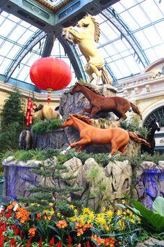 Bellagio Chinese New Year 2014.