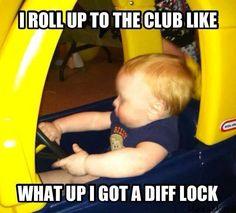 Diff lock/club