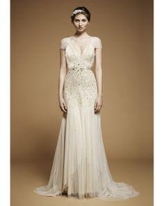 Glamorous Old Hollywood-Style Wedding Dresses, Fall 2012 #wedding #dress
