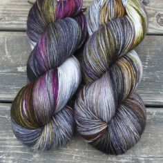 Zombie Prom - Yowza - Babette - I think this would be great knit up in a sweater. Can& have EVERYTHING be pink! Yarn Thread, Yarn Stash, Crochet Yarn, Knitting Yarn, Grandma Crafts, Zombie Prom, Yarn Inspiration, Hand Dyed Yarn, Yarn Colors