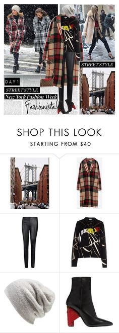 """New York Fashion Week Day1 Fashionista"" by stylepersonal ❤ liked on Polyvore featuring By Malene Birger, Kenzo, Barefoot Dreams, Balenciaga, PALLAS, StreetStyle and NYFW"
