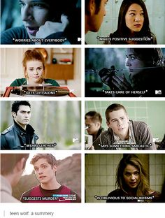 teen wolf: a summary - haha, this is funny.