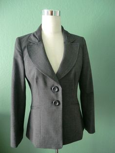 NEW CLASSIQUES ENTIER BLACK & WHITE TWEED CLASSIC FIT BLAZER JACKET 10 #ClassiquesEntier #Blazer
