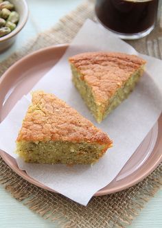 Almond Pistachio Cake by nishamani2006, via Flickr- G-free Version in details