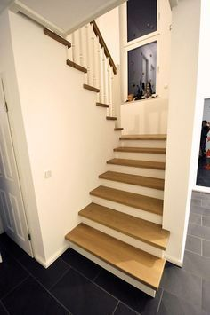 This is also true for that basement stairs. Basement Furniture, Modern Stairs, House Stairs, Staircase Design, Stairways, Interior Design Living Room, Home And Living, House Plans, Sweet Home