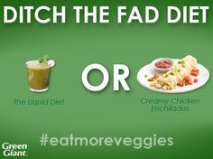 Forget fad diets! #eatmoreveggies for better health and sustainable weight loss.